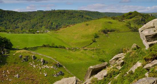 Valley of Rocks Lynton Devon